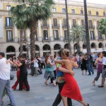 On the right Track to Tango in Barcelona
