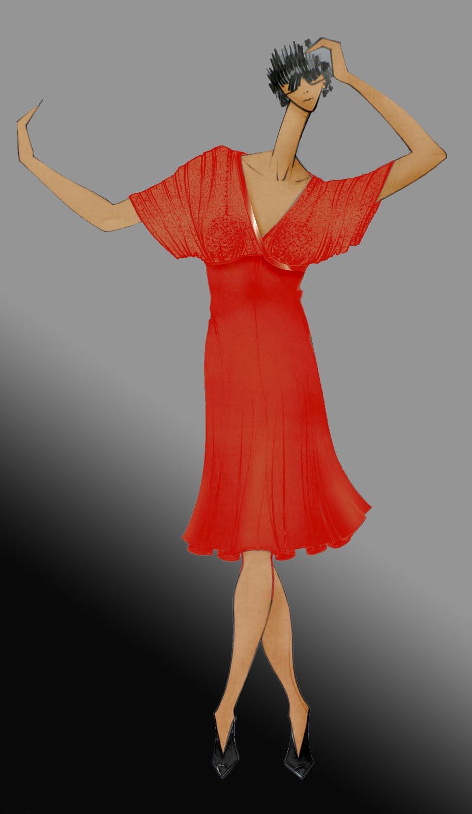 tango dress Nostalgia
